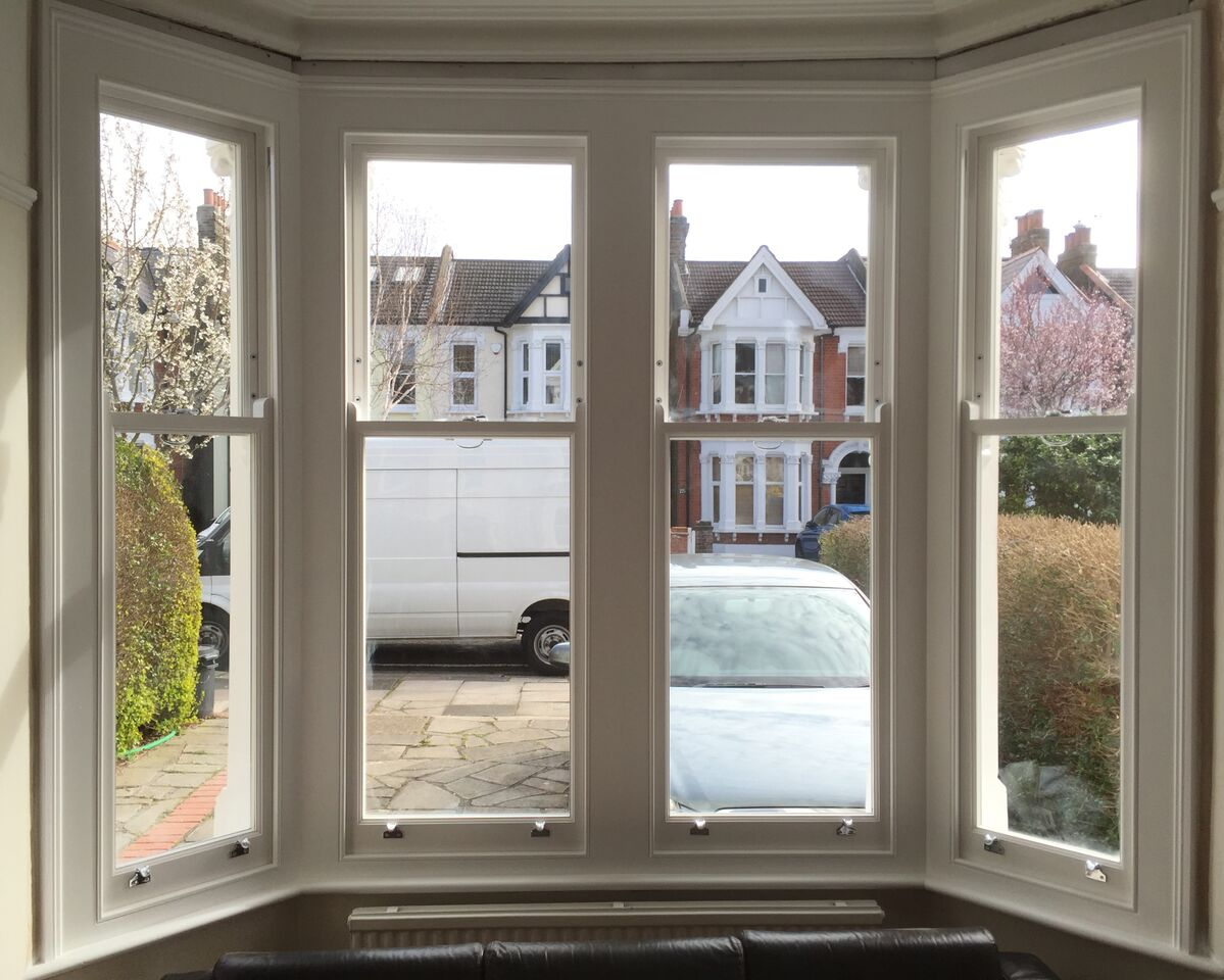 New complete box sash windows, Egerton Gardens Ealing